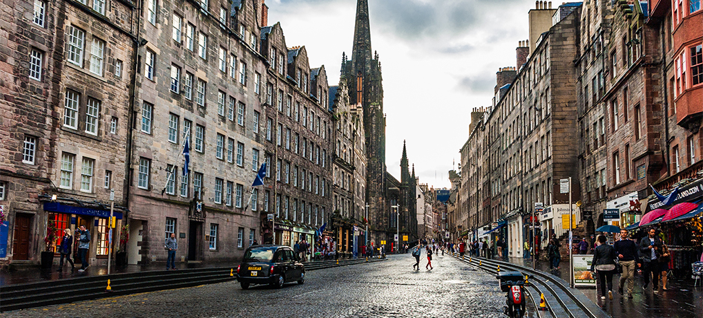 In the heart of Edinburgh